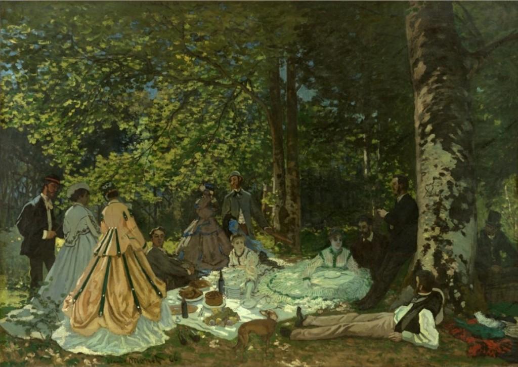 AH-Claude Monet-Le dejeuner sur l-herbe-Wikimedia