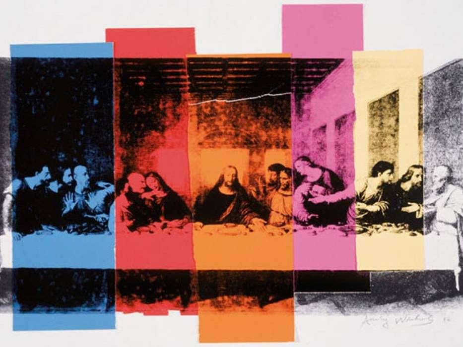 AH-Last Supper-Andy Warhol