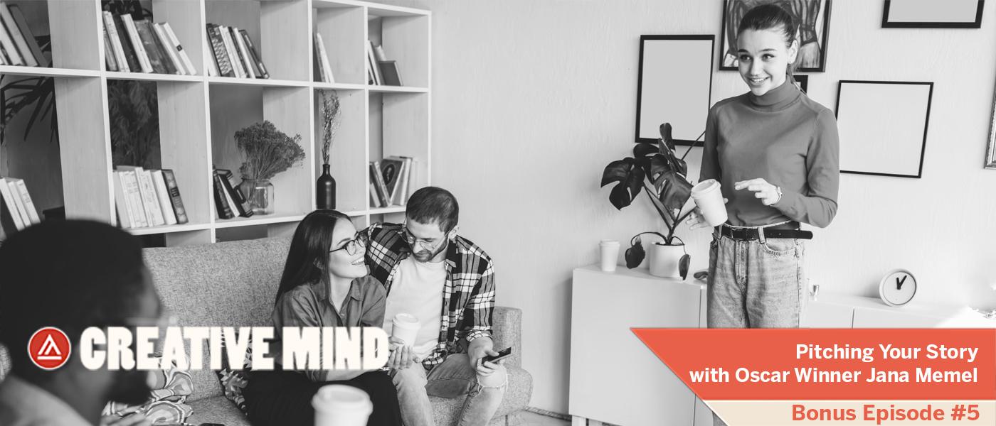 Creative Mind - The Pitch - Bonus Episode 5- 700x300 Staic Ad
