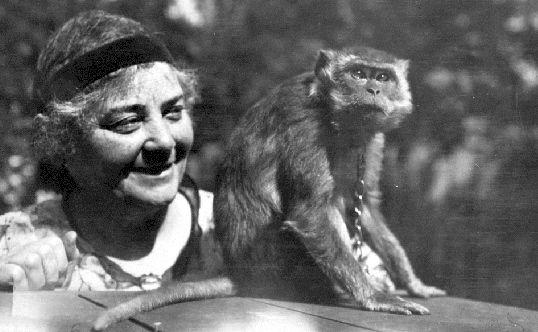 pets in art-emily carr monkey woo-pinterest