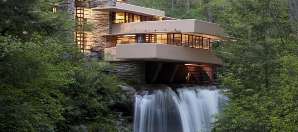 ARCH-fallingwater-Frank Lloyd Wright