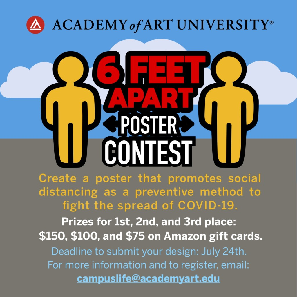 poster-contest 6ft social distance