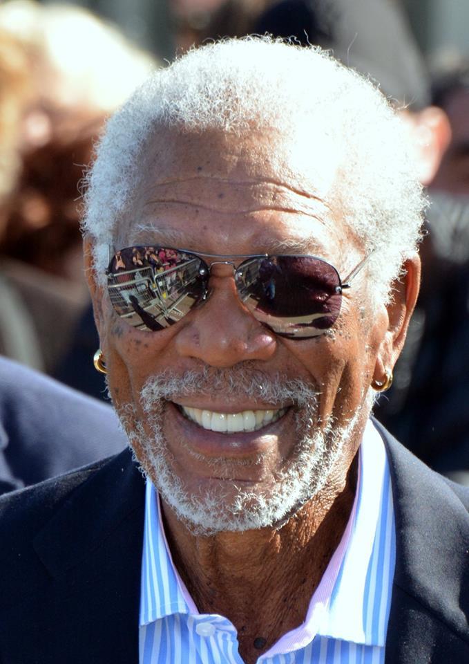 Photo of Morgan Freeman smiling
