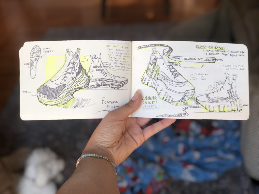 womens day-elan hawkins-shoe sketches
