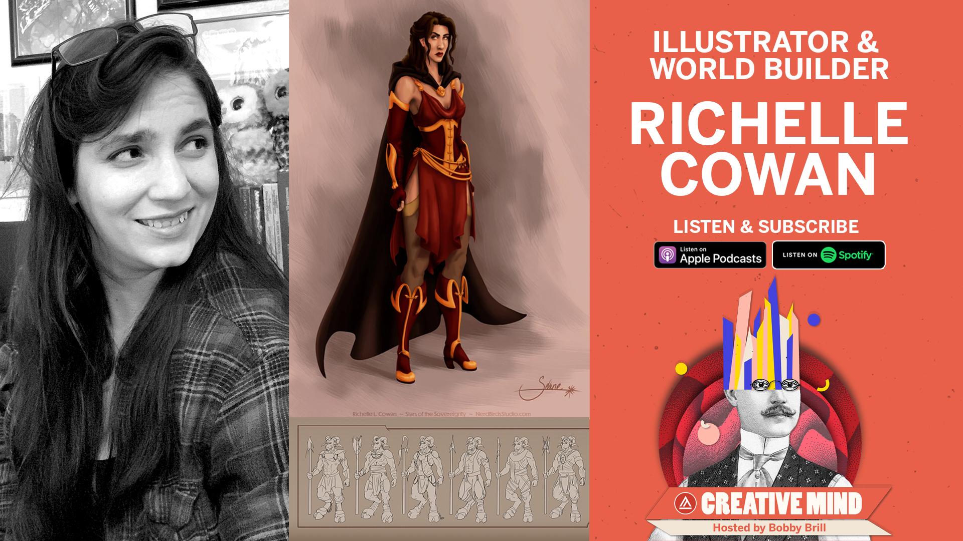 Richelle Cowan on Creative Mind Podcast